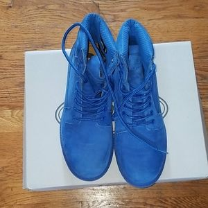 New Royal Blue Boots